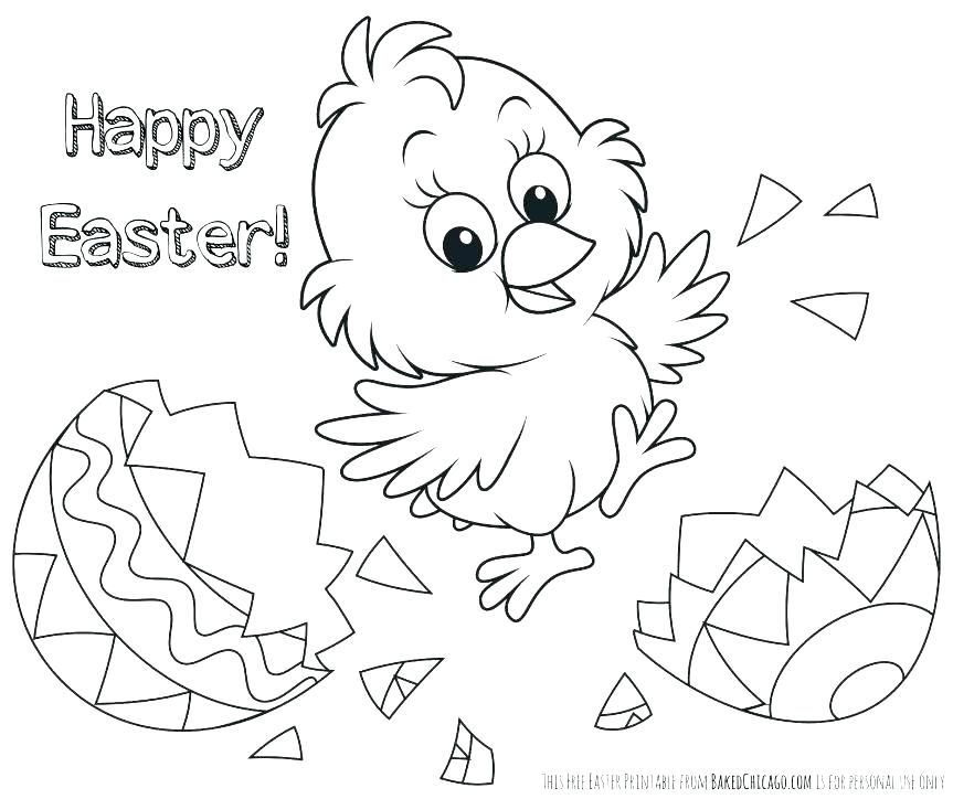 863x724 Easter Coloring Pages Printable