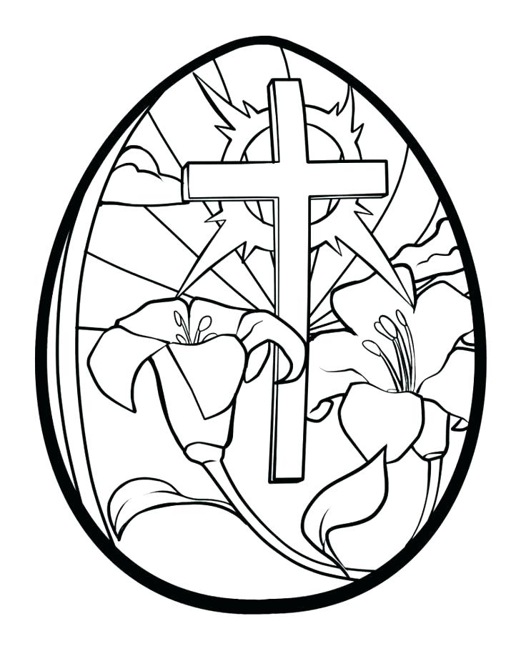 736x911 Religious Easter Coloring Pages Icontent