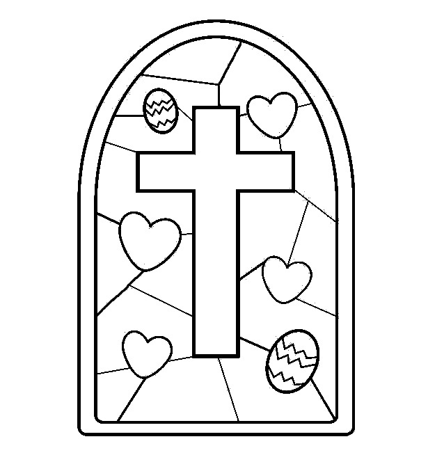Easter Printable Coloring Pages Religious At Getdrawingscom Free