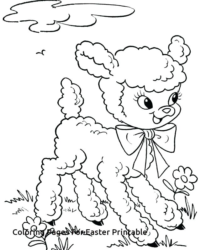 Easter Printable Coloring Pages Religious at GetDrawings.com | Free ...