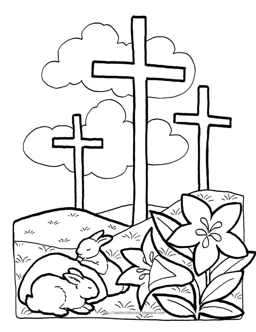 878x1141 Easter Story Coloring Pages