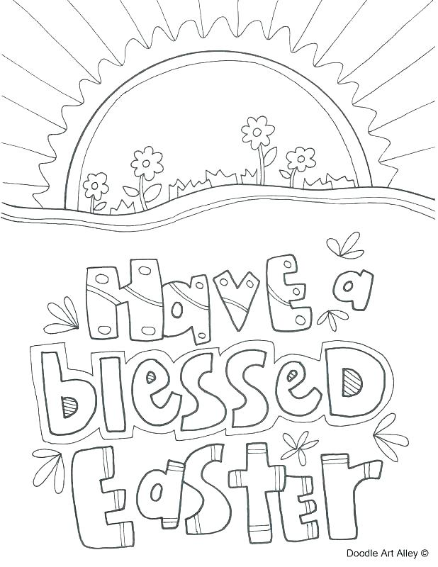 618x800 Easter Story Coloring Pages Printables My Little House The Story