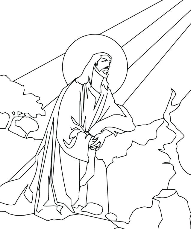 638x762 Jesus Easter Story Coloring Pages Loves Me Love And The Other