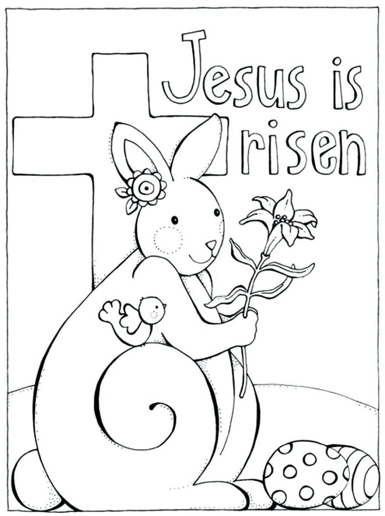 768x1030 Coloring Pages The Easter Story My Little House Resurrection