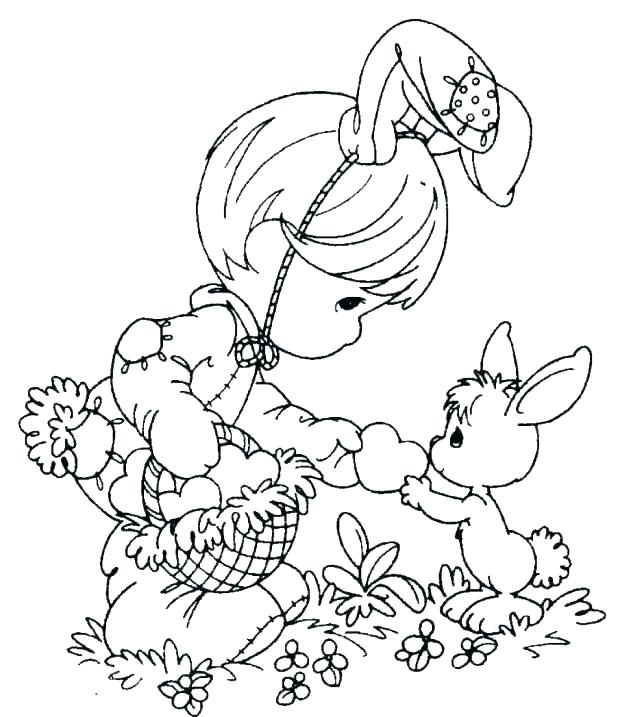 618x717 Coloring Pages For Easter
