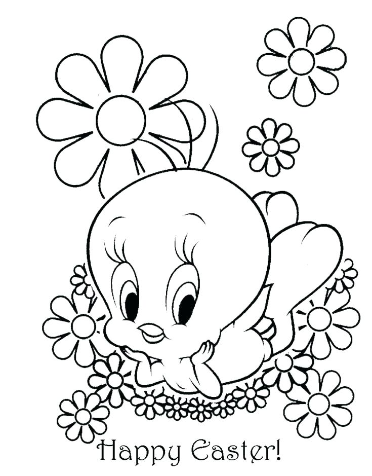 735x939 Easter Coloring Book