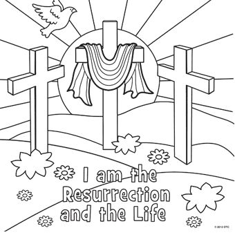 Easter Sunday Coloring Pages