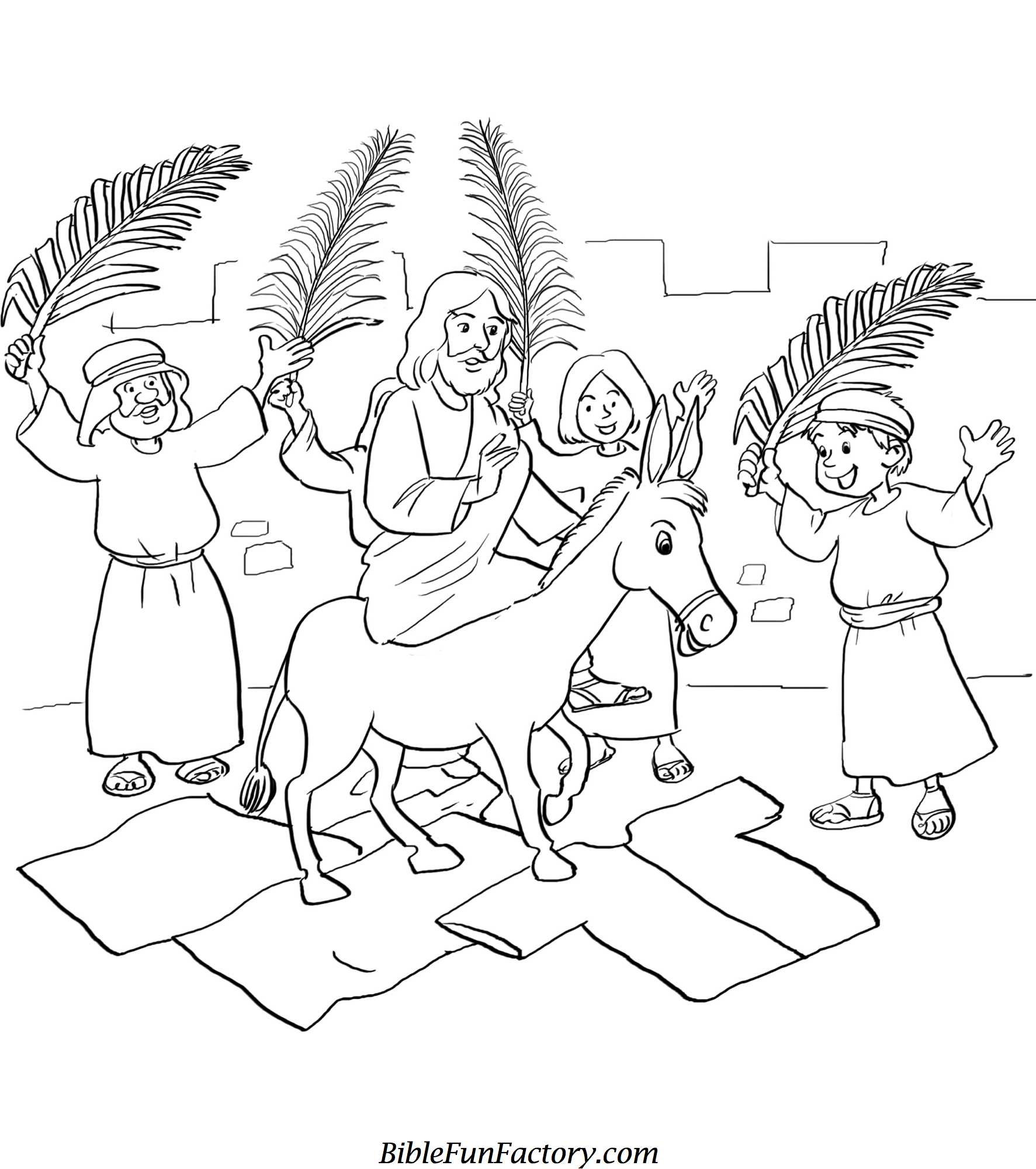 Easter Sunday Coloring Pages at GetDrawings.com | Free for ...