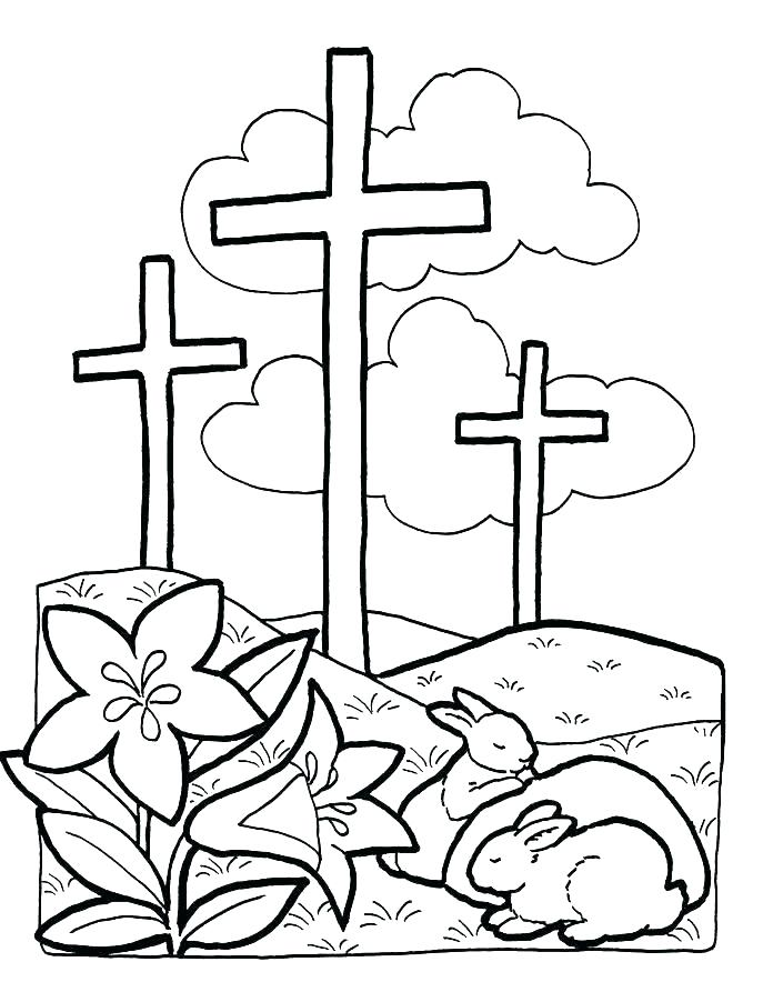 687x893 Easter Coloring Pages Free