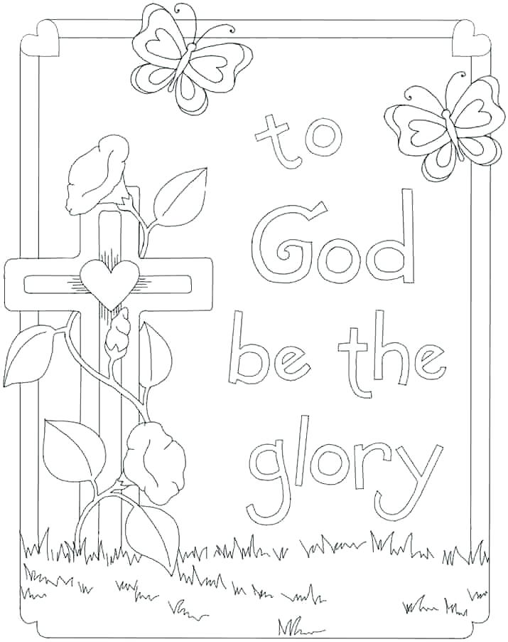 Easter Sunday School Coloring Pages at GetDrawings | Free ...