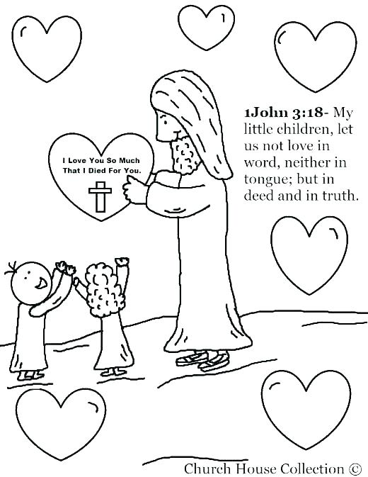 520x673 Sunday School Coloring Pages For Preschoolers School Coloring Page