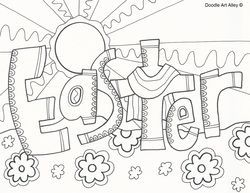 250x193 Cool Easter Coloring Pages Easter Easter Colouring