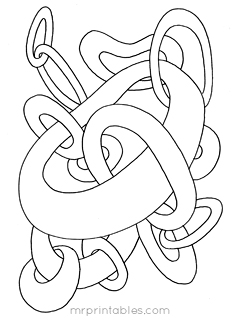 238x320 Abstract Coloring Pages For Kids