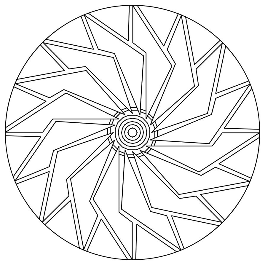 894x894 Mandala Coloring Pages Mandala Coloring Pages Easy Kids Coloring