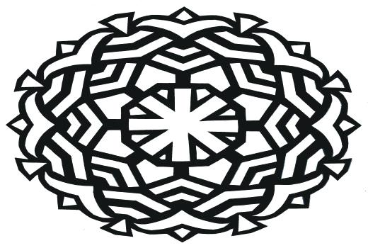 520x350 Simple Mandala Coloring Pages Elegant Abstract Coloring Pages