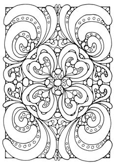 236x333 Abstract Coloring Pages