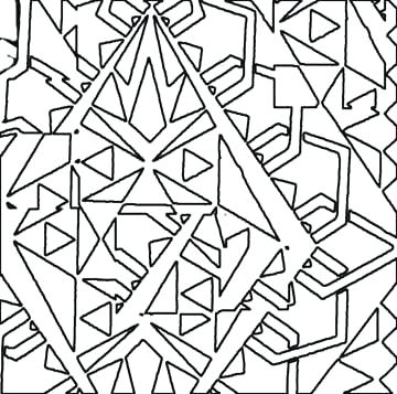 360x357 Abstract Coloring Pages Easy Abstract Coloring Pages Preschool