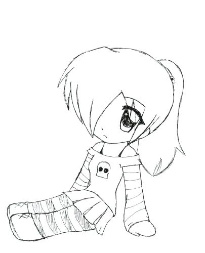 405x500 Easy Coloring Pages For Girls Medium Size Of Cute Anime Coloring