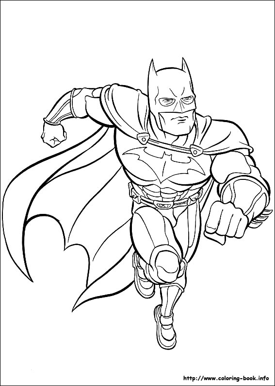 567x794 Batman Coloring Pages On Coloring