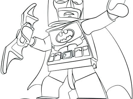 440x330 Coloring Page Batman Easy Batman Car Coloring Pages Batman Car