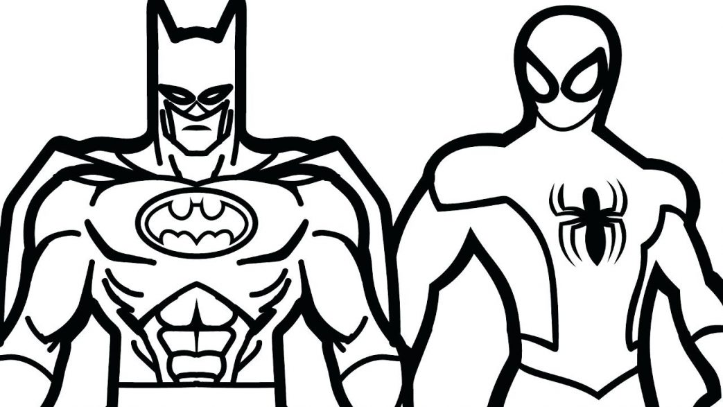 1043x587 Coloring Pages For Adults Easy Batman The Sun Flower Catching