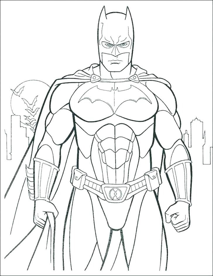 728x942 Cool Batman Coloring Pages Best Of Free Images Royalty