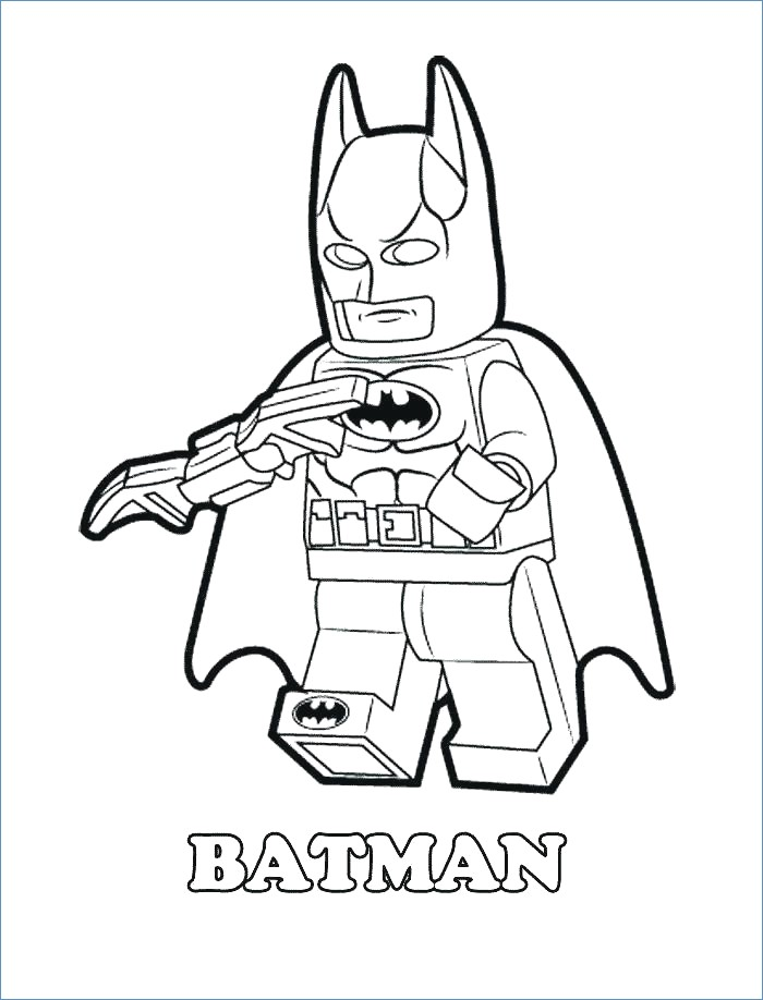 700x918 Easy Batman Coloring Pages