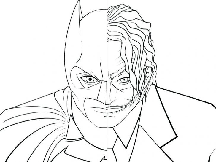 728x546 Easy Batman Coloring Pages For Kids Best Beautiful Online Disney