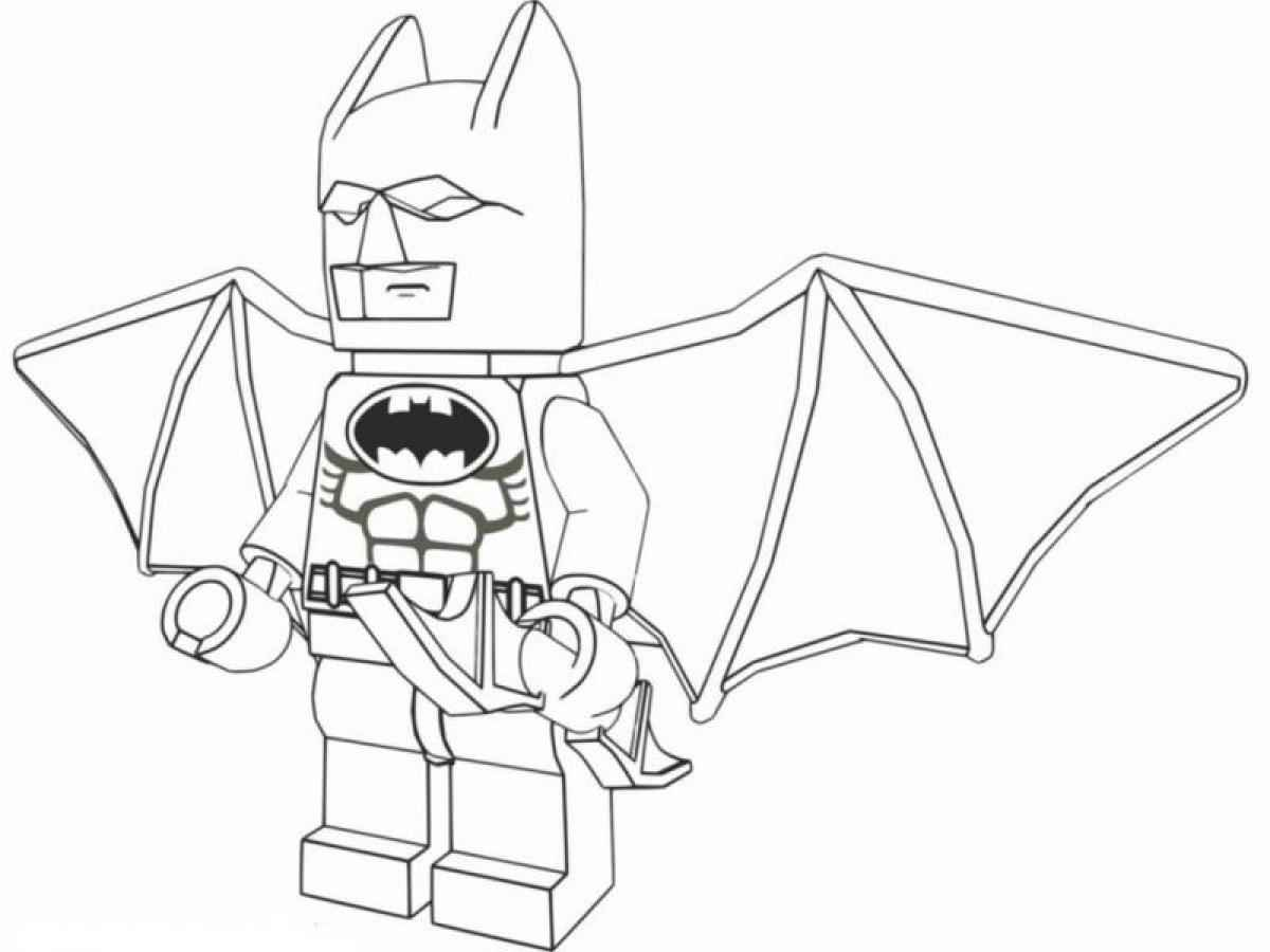 1200x900 Good Lego Batman Coloring Pages At Batman Coloring Pages