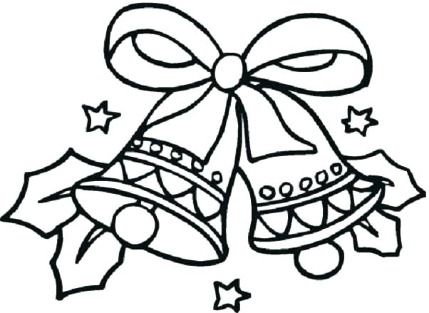 602x439 Easy Christmas Coloring Pages Easy Coloring Pages Easy Coloring