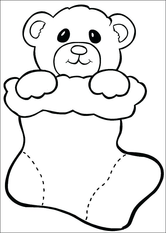 567x794 Easy Christmas Coloring Pages Easy Coloring Pages Easy Printable