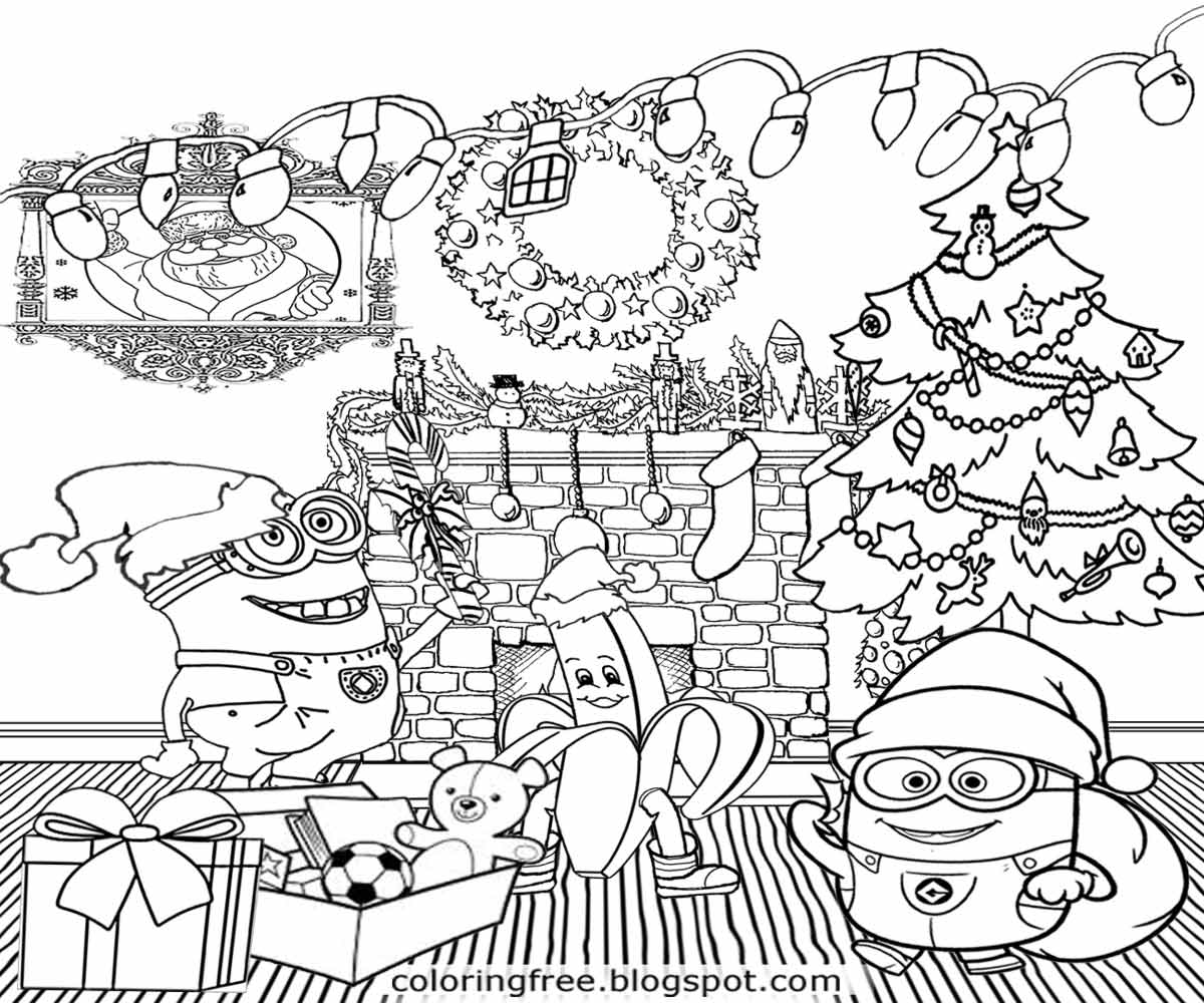 1200x1000 Latest Chrismas Coloring Pages Christmas Free
