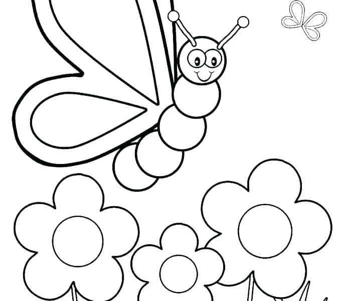 678x600 New Easy Coloring Pages For Preschoolers And Thanksgiving