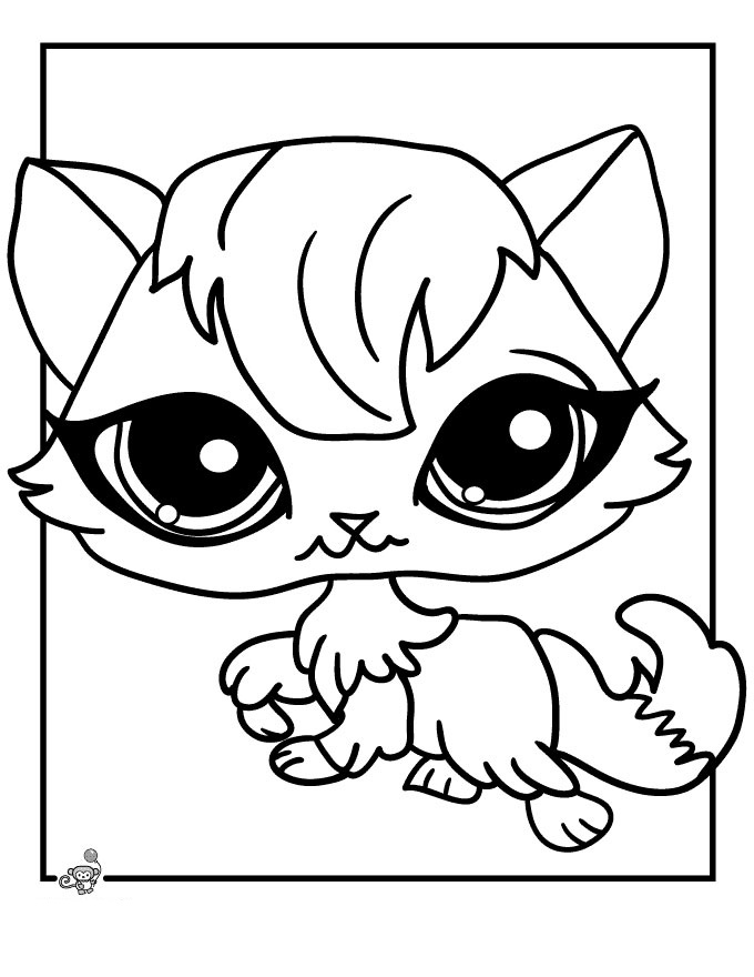 680x880 Littlest Pet Shop Coloring Pages For Kids To Print For Free