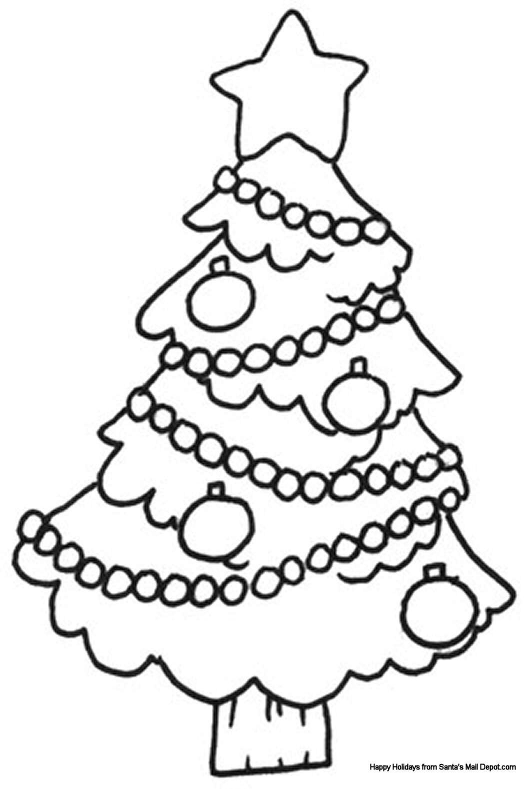 1052x1577 Christmas Coloring Page The Sun Flower Pages
