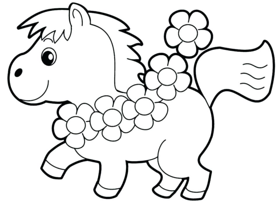Easy Coloring Pages For Kids At Getdrawings Com Free For
