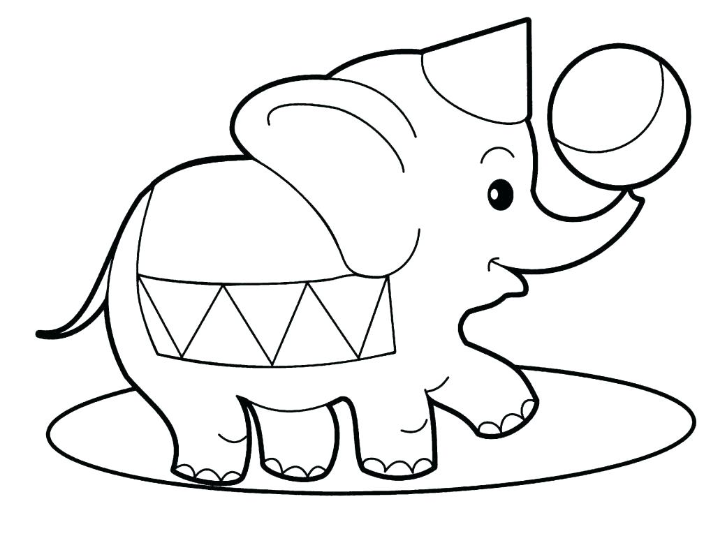 Easy Coloring Pages For Toddlers At Getdrawings Com Free For