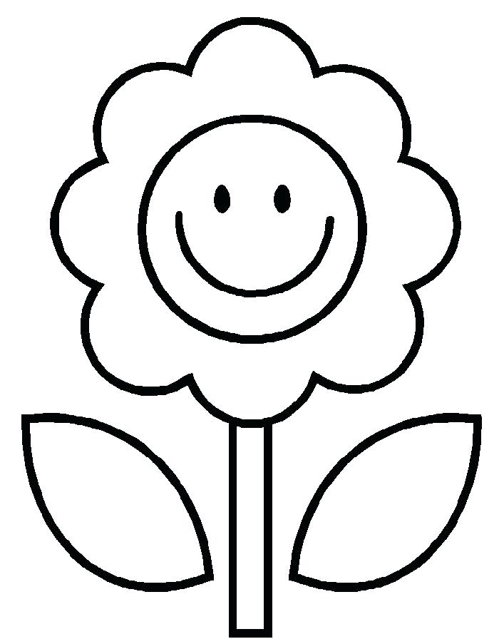 700x903 Easy Coloring Page Easy Printable Flower Coloring Pages Flower