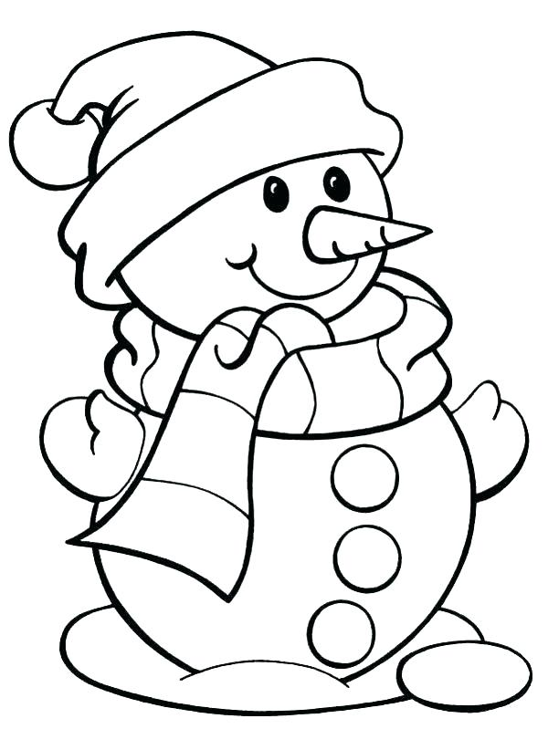 600x799 Easy Christmas Coloring Pages Coloring Sheets Free Simple Coloring