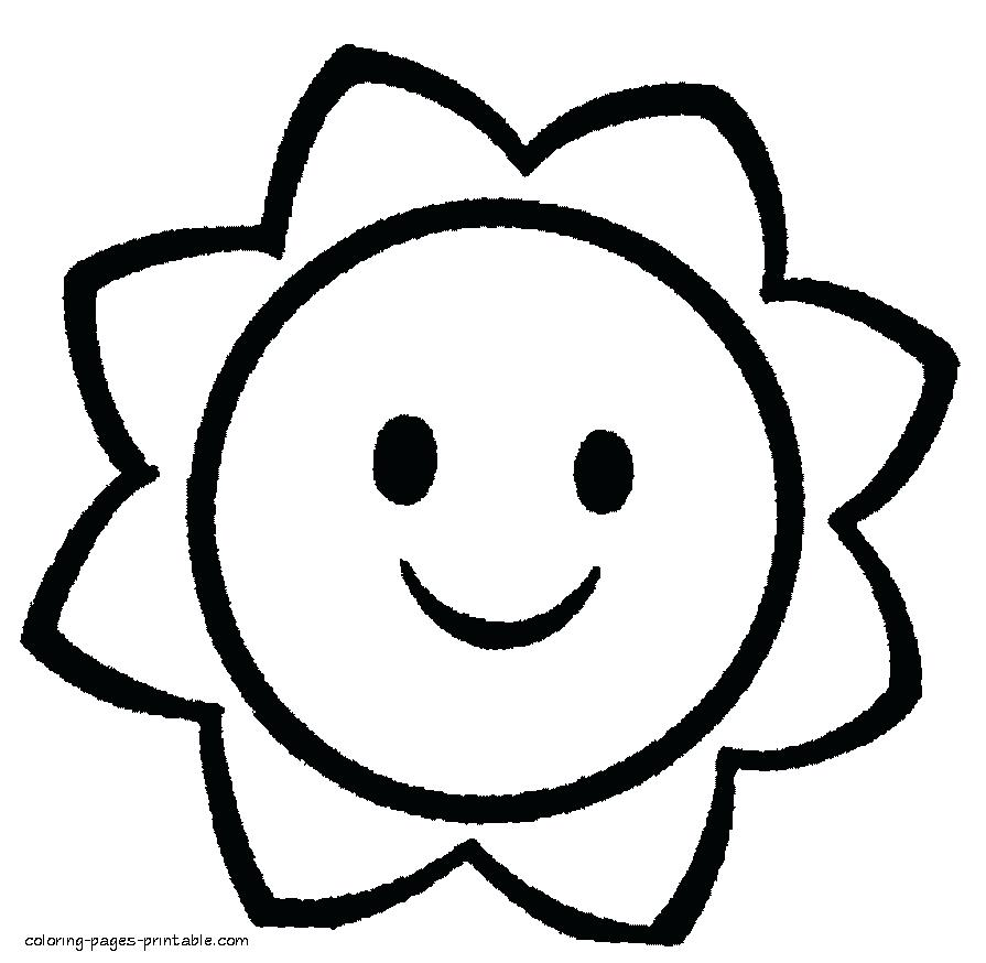 Easy Coloring Pages To Print At GetDrawings Free Download
