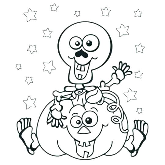 540x540 Halloween Coloring Printable Pages