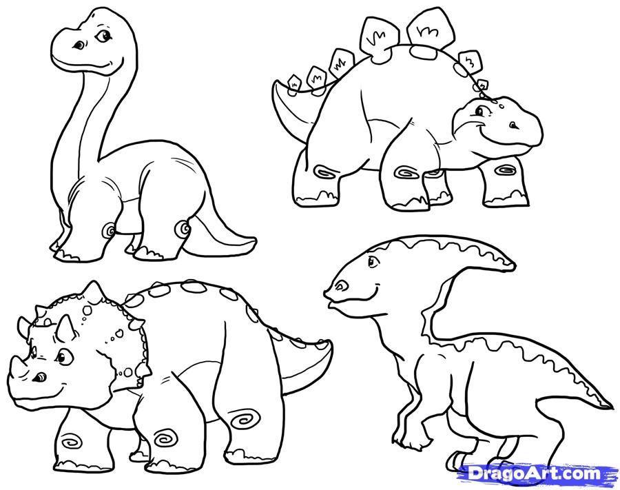 900x711 Cute Dinosaur Coloring Pages Cute Dinosaur Drawings Images Hd