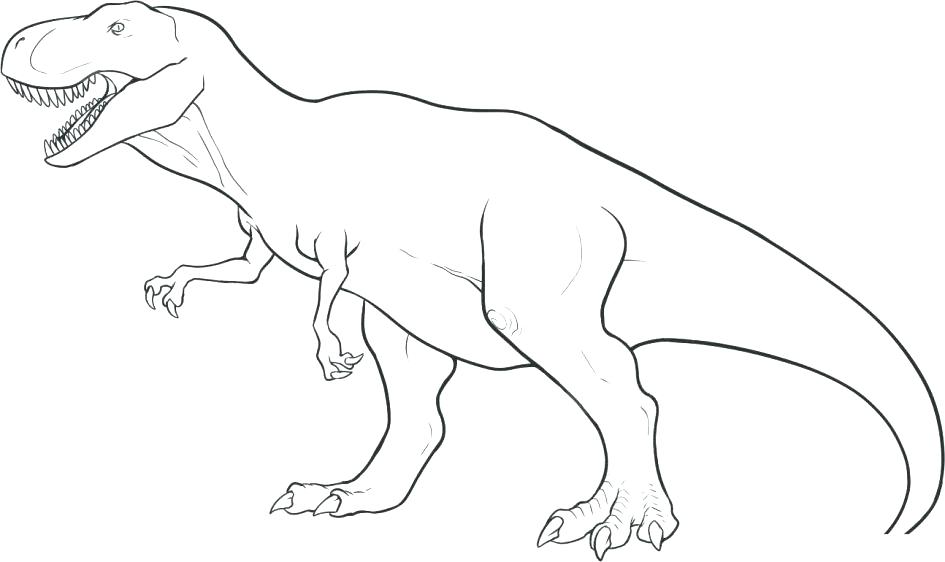 945x562 Dinosaur Coloring Book Easy Dinosaur For Toddlers Coloring Page