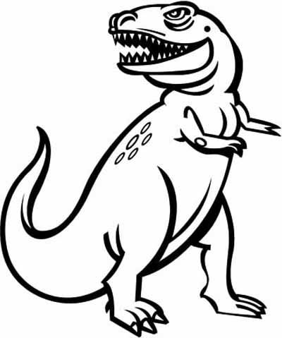 400x479 Dinosaur Coloring Pages
