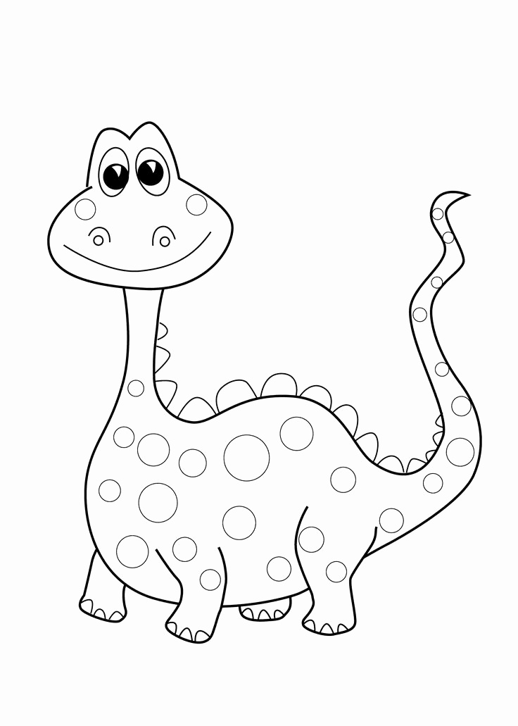 736x1031 Free Printable Dinosaur Coloring Pages Best Of Coloring Pages