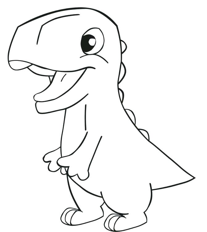 671x751 Baby Dinosaur Coloring Pages Coloring Pages Dinosaurs Medium Size