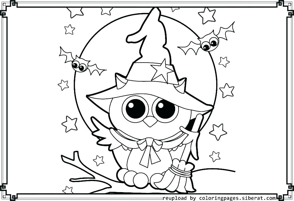 Easy Owl Coloring Pages At Getdrawings Com Free For Personal Use