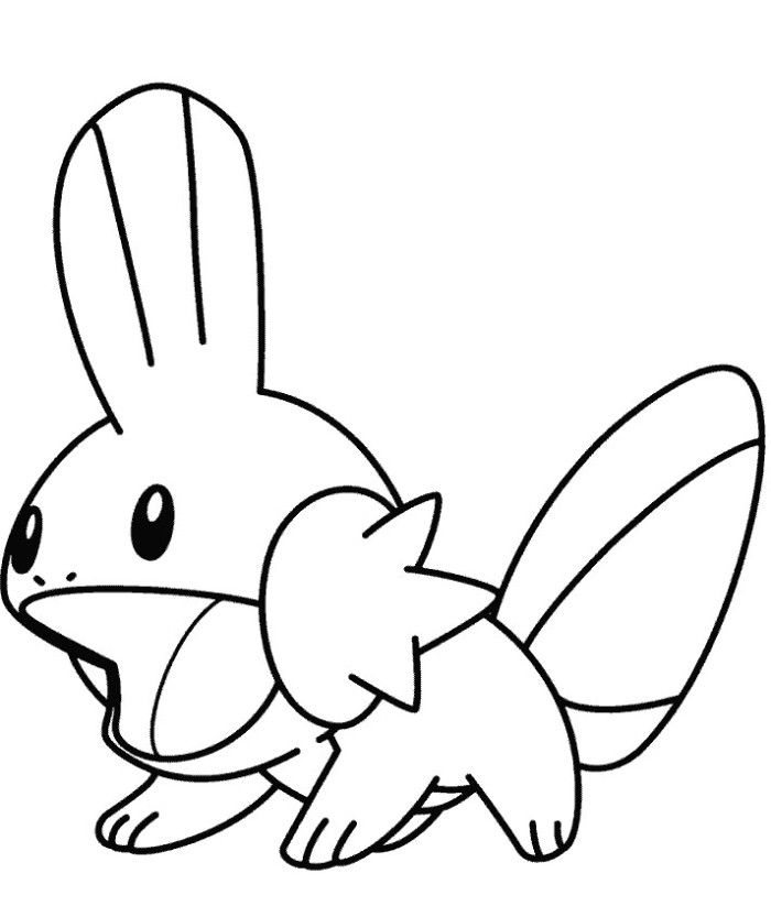 700x823 Pokemon Coloring Pages Easy
