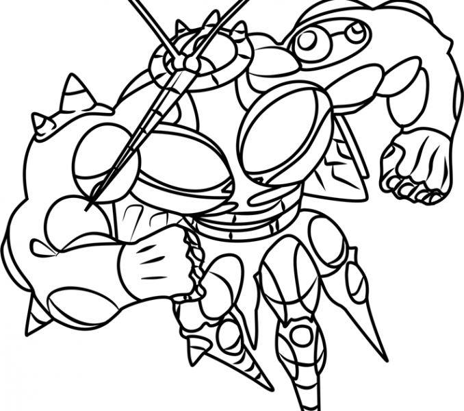 678x600 Pokemon Gx Coloring Pages Pokemon Coloring Pages