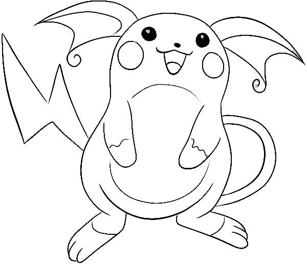 600x516 Pokemon Coloring Page